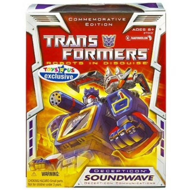 Reissue Commemorative Edition Soundwave - MIB