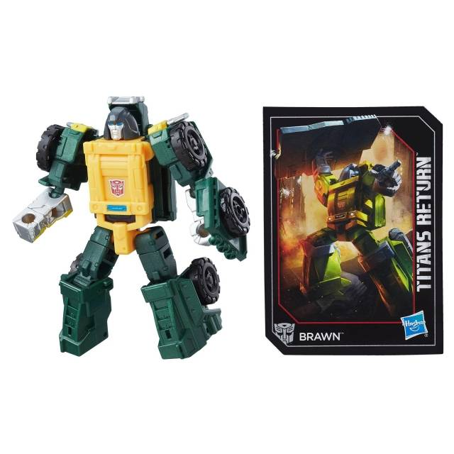 Titans Return - Legends - Brawn