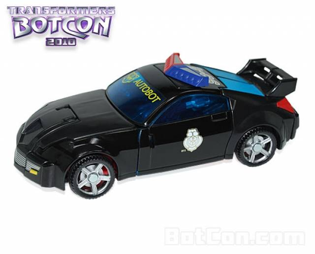 Botcon 2010 - Streetstar - Loose 100% Complete
