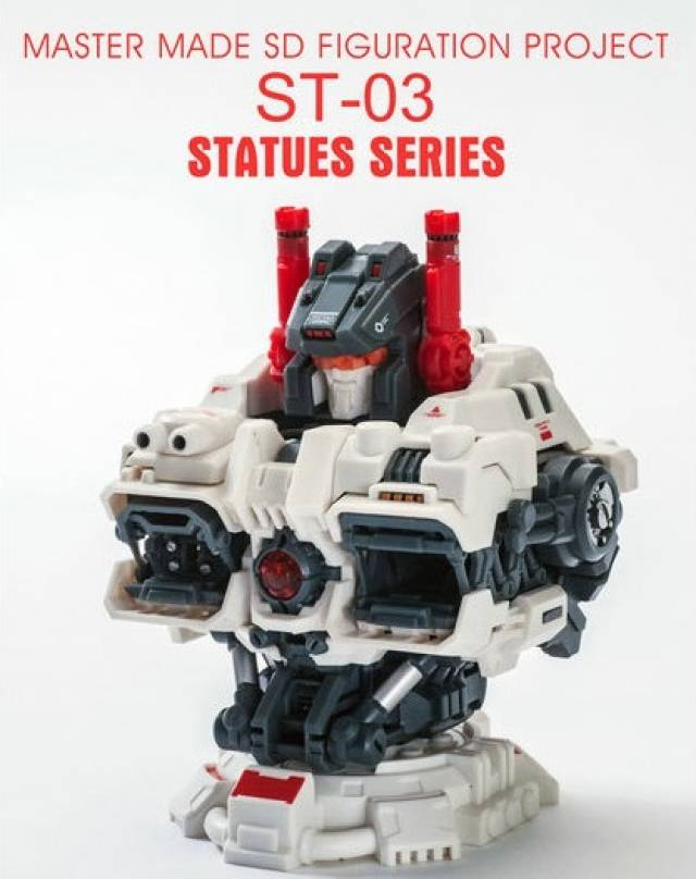 Master Made - ST-03 Titan - Bust Add-on