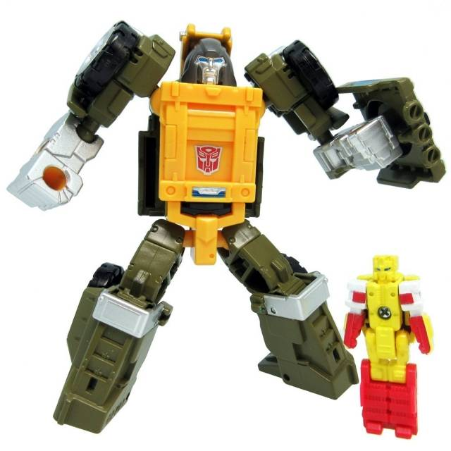 Transformers Legends Series - LG48 Gong / Brawn & Repugnus