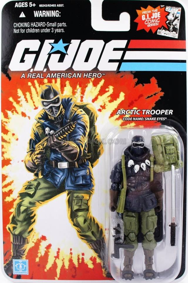 GIJoe - 25th Anniverary - Snake Eyes - Arctic Trooper