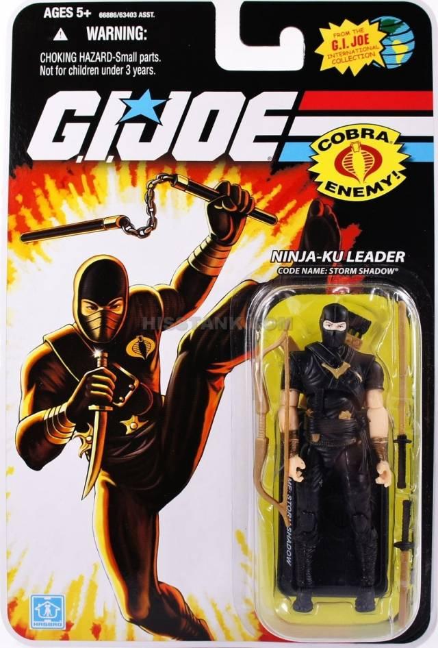 GIJoe - 25th Anniversary - Storm Shadow - Ninja-Ku Leader