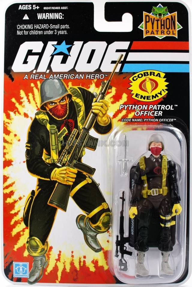 GIJoe - 25th Anniversary - Python Patrol Officer