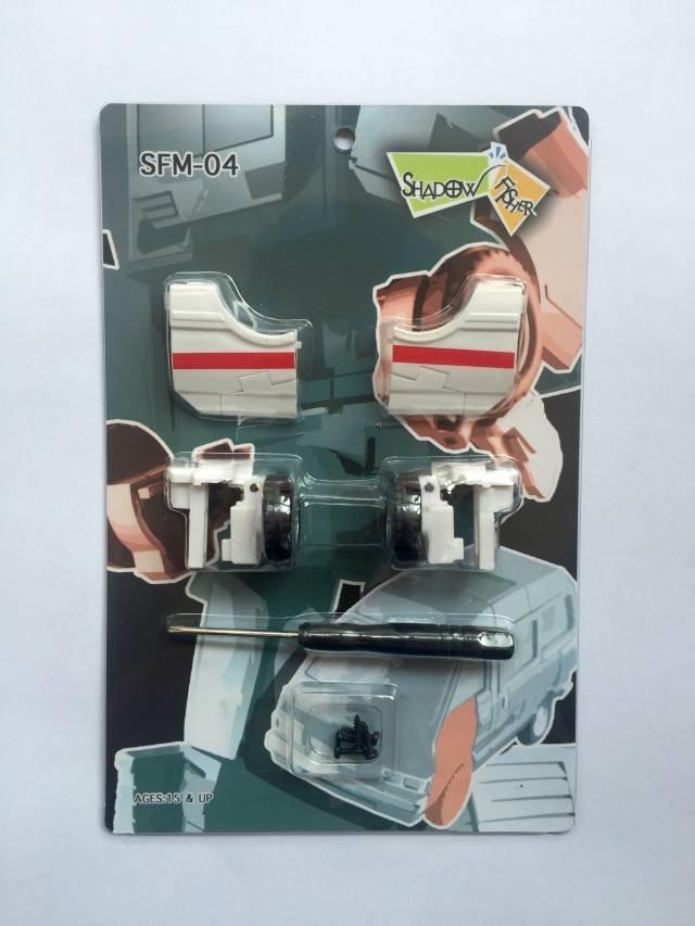 Shadow Fisher - SFM04 Upgrade kit for MP30 Masterpiece Ratchet