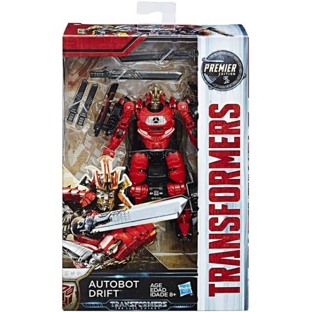 Transformers The Last Knight Premier - Deluxe Class W2 - Autobot Drift