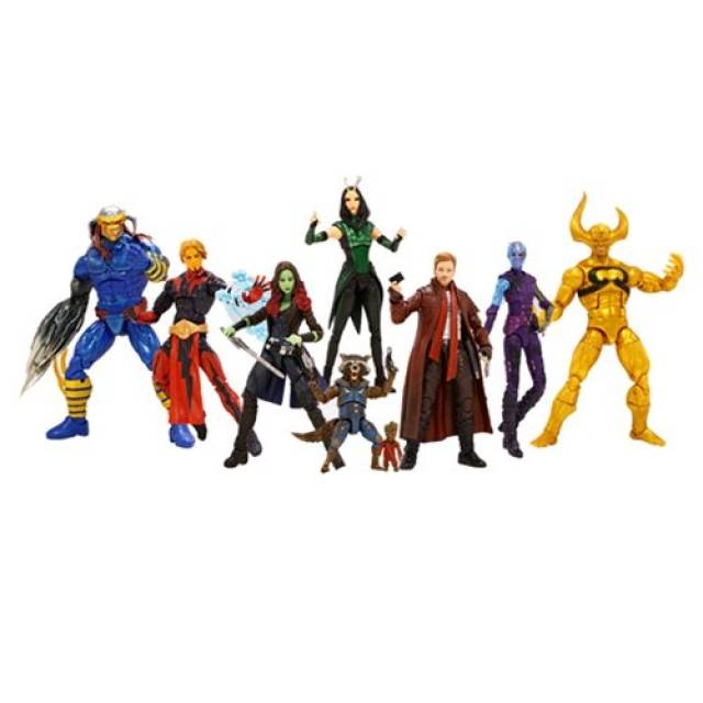 Marvel Legends - Guardians of the Galaxy Series 02 - Case of 8 BAF Mantis