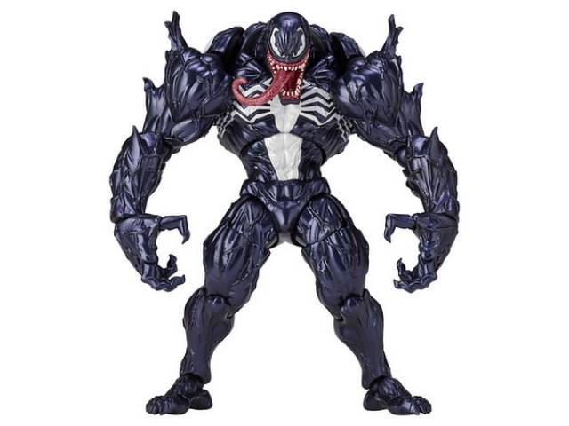 Revoltech - American Comic Characters - Amazing Yamaguchi - #003 - Venom - Reissue