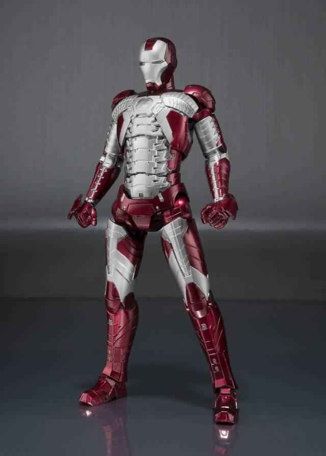 S.H. Figuarts - Iron Man Mark V & Hall of Armor Set