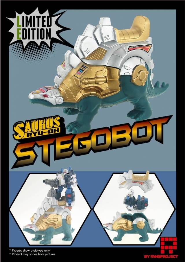 Fansproject - Ryu-Oh Stegobot Shell - Limited Edition
