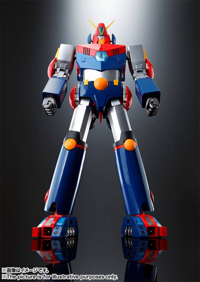 DX - Soul of Chogokin - Cho Denji Robo Combattler V