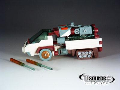 Energon - Deluxe - Snowcat - Loose - 100% Complete