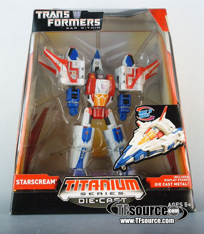 Titanium - War Within - Starscream - MISB