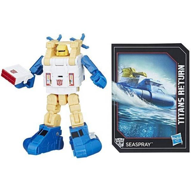Titans Return - Legends Class - Seaspray