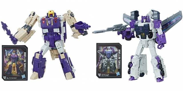 Transformers Titans Return - Voyager Class Series 5 - Set of 2