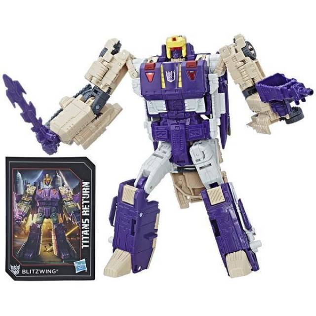 Transformers Titans Return - Voyager Class - Blitzwing & Hazard