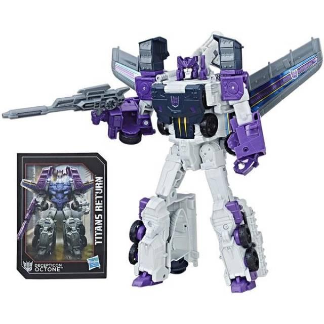Transformers Titans Return - Voyager Class - Octane & Murk