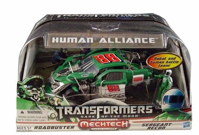 DOTM - Human Alliance - Roadbuster w/ Sergeant Recon - MIB