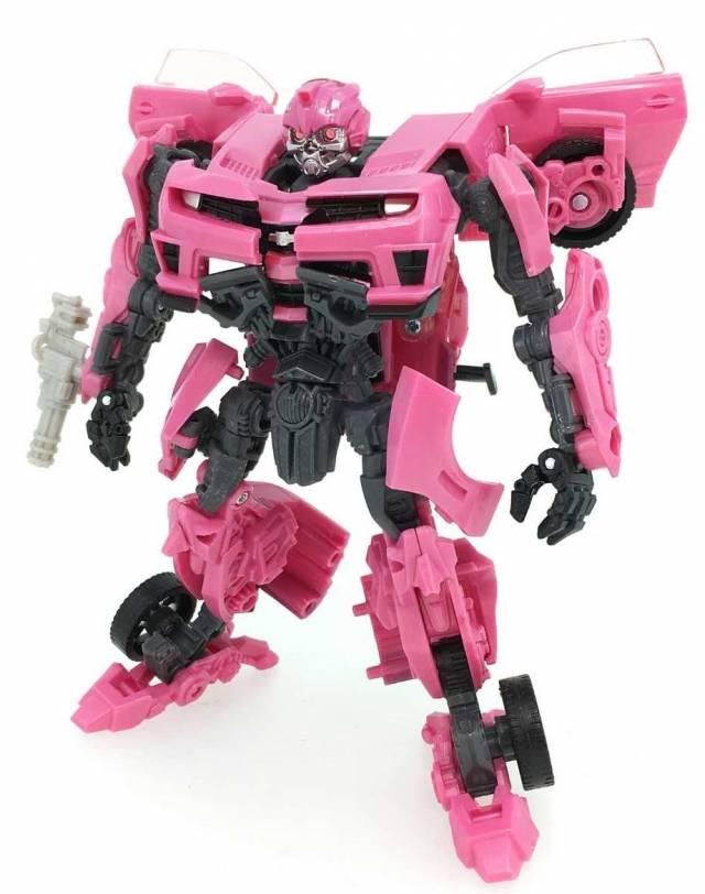 Transformers the Best Movie Reissue -  MB-EX - Laserbeak - Pink Bumblebee