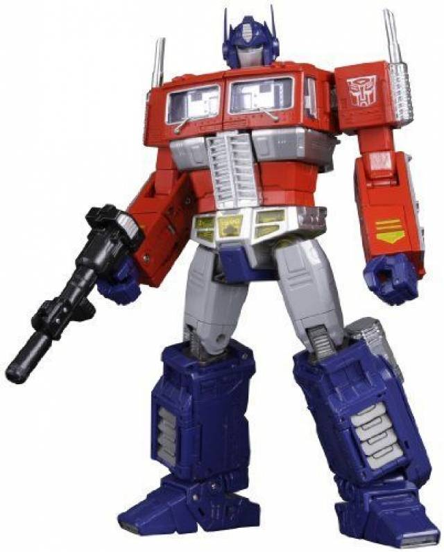 MP-10 - Masterpiece Optimus Prime - Convoy with Spike Figure