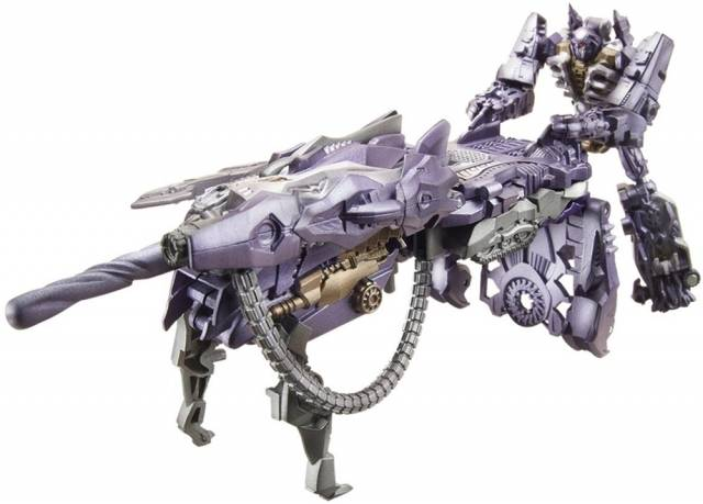 DOTM - Cyberverse Action Set - Shockwave / Fusion Tank - MIB