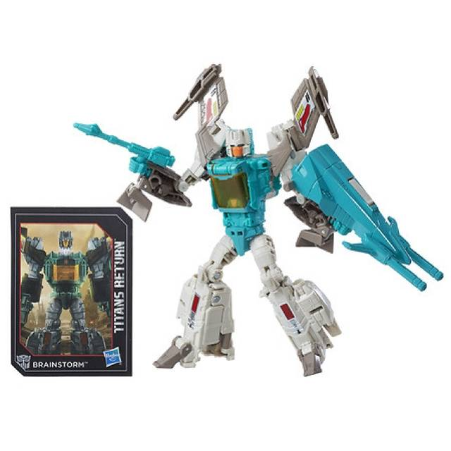 Deluxe Brainstorm and Teslor Limited Edition Exclusive | Transformers Titans Return