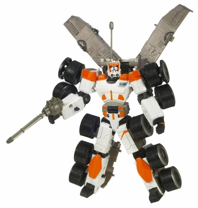 Star Wars Transformers - Clone Commander Cody