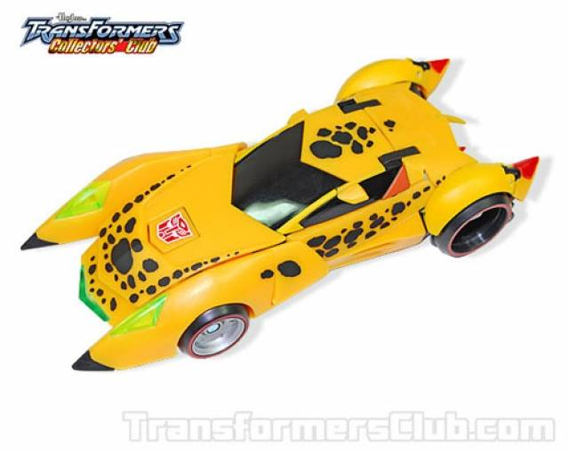 TFCC 2011 Exclusive - Animated TT Cheetor - Loose Complete