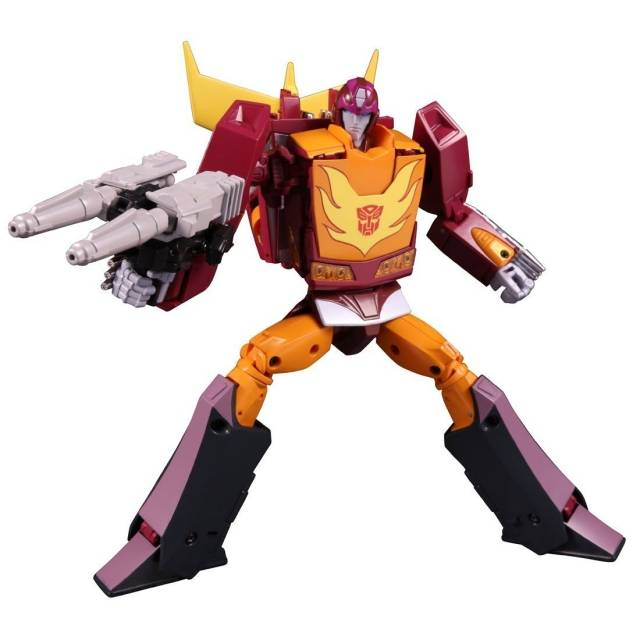 Masterpiece - MP-40 Targetmaster Hot Rodimus - w/ Collectors Coin