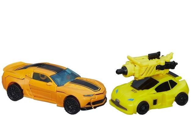 Transformers Age of Extinction - Bumblebee Evolution 2-pack - Loose - 100% Complete