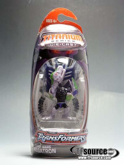 Titanium - Beast Wars Megatron - MOSC