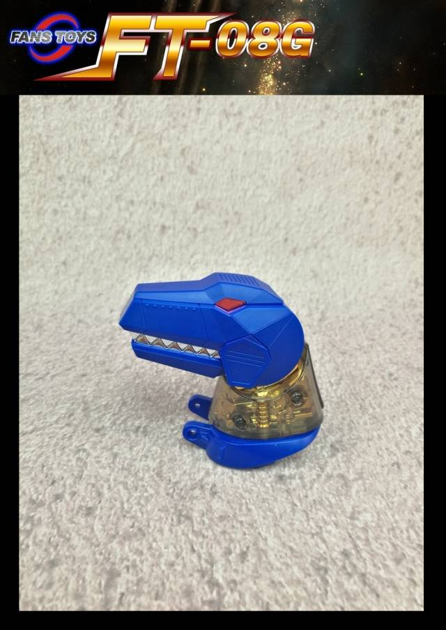FansToys FT-08G - Iron Dibots No.5 - Limited Grinder - Dinohead