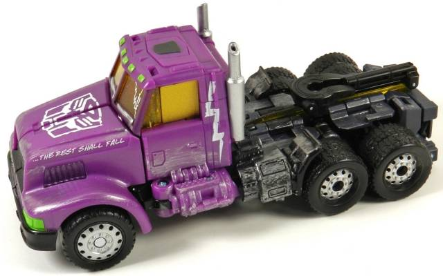 Botcon 2012 - Shattered Glass - Optimus Prime - Loose Complete