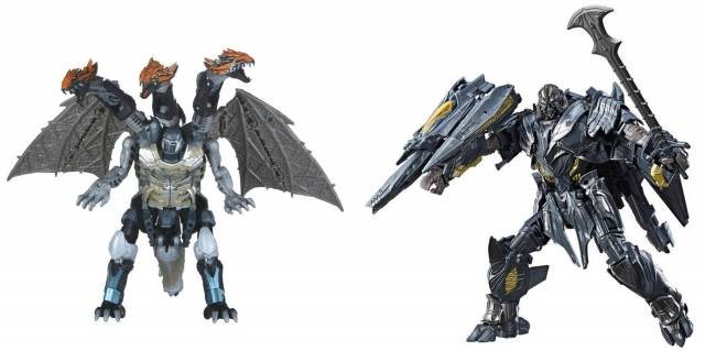 Transformers The Last Knight - Leader Class W2 - Set of 2