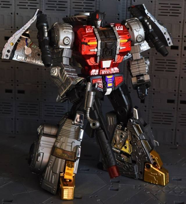 GigaPower - Gigasaurs - HQ-04R Graviter - Chrome Version