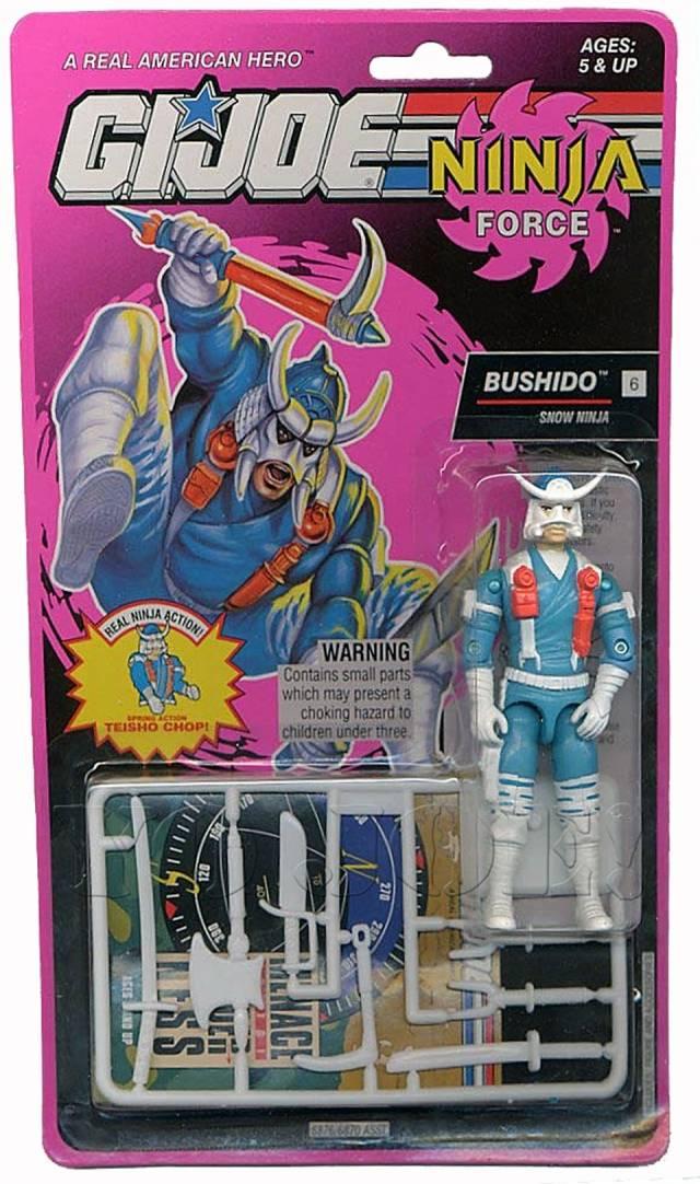 GI Joe - 1993 - Ninja Force - Bushido - MOSC