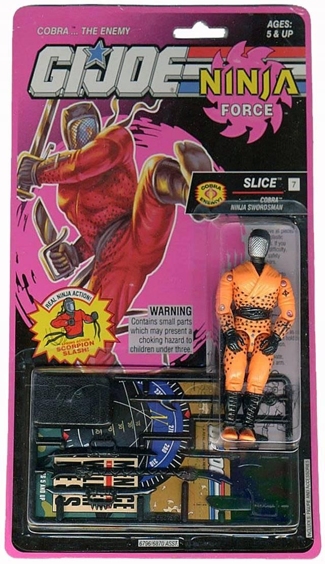 GI Joe - 1993 - Ninja Force - Slice - MOSC
