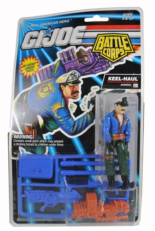 GIJoe - 1993 Battle Corps - Keel-Haul - MOSC