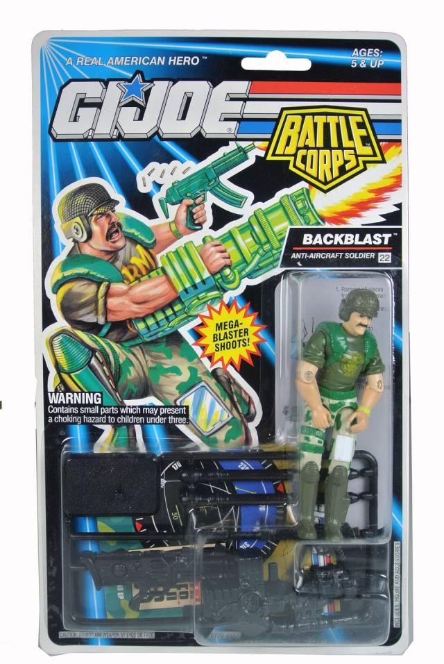 GIJoe - 1993 Battle Corps - Backblast - MOSC