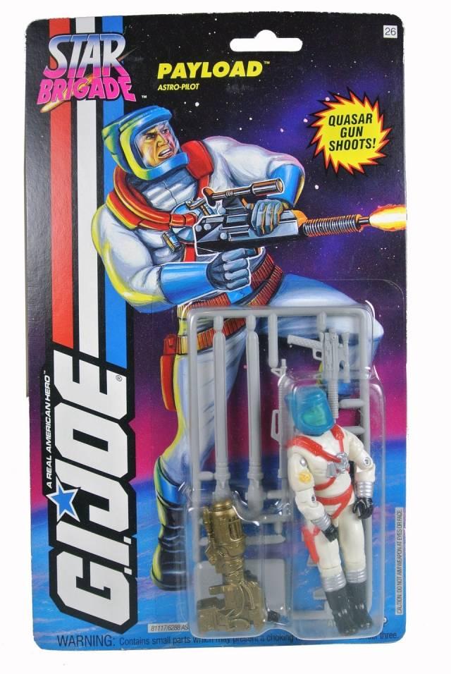 GIJoe - Star Brigade - Payload - MOSC