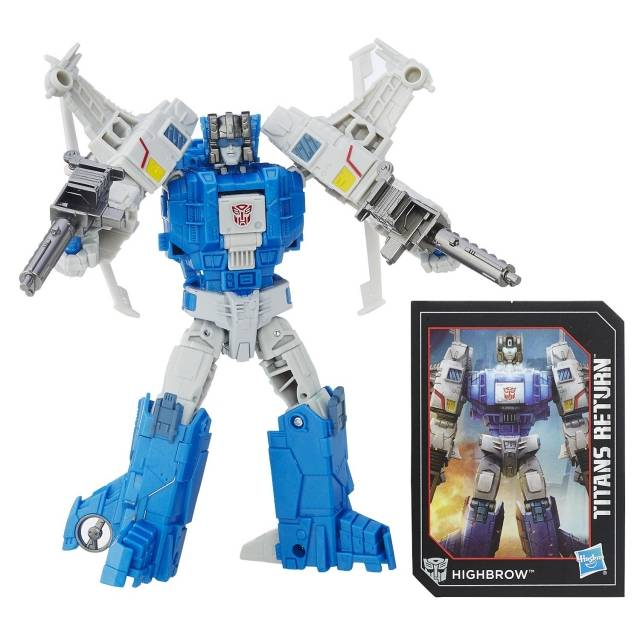 Deluxe Highbrow and Xort | Transformers Titans Return