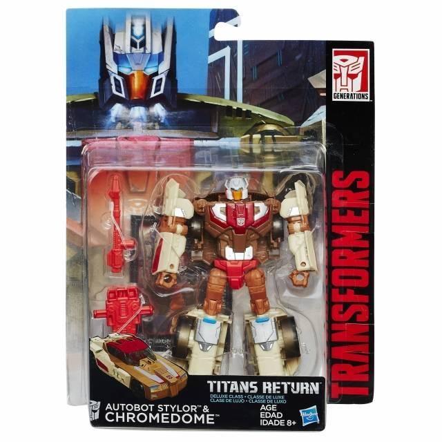 Titans Return 2016 - Deluxe Chromedome & Stylor