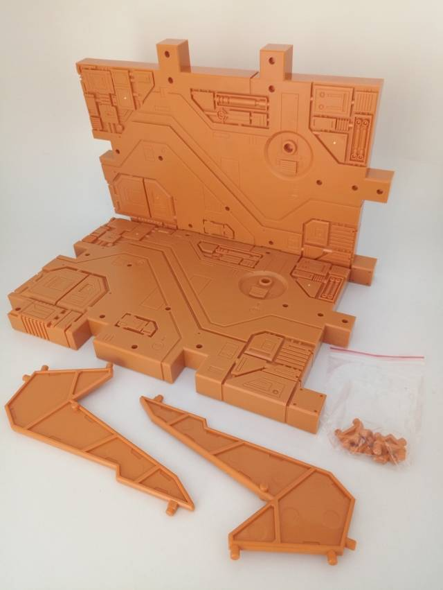 Zeta Toys - Zeta EX - Display Base - Orange