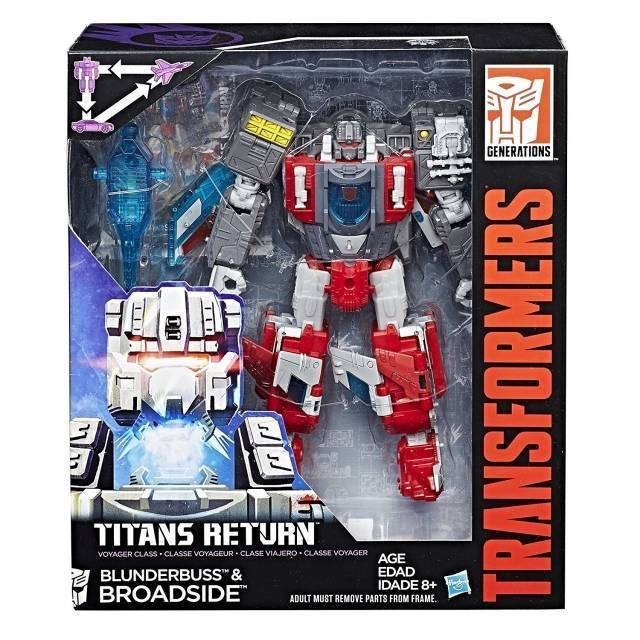 Transformers Titans Return - Voyager - Broadside with Blunderbuss