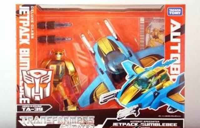 Japanese Transformers Animated - TA39 - Jetpack Bumblebee