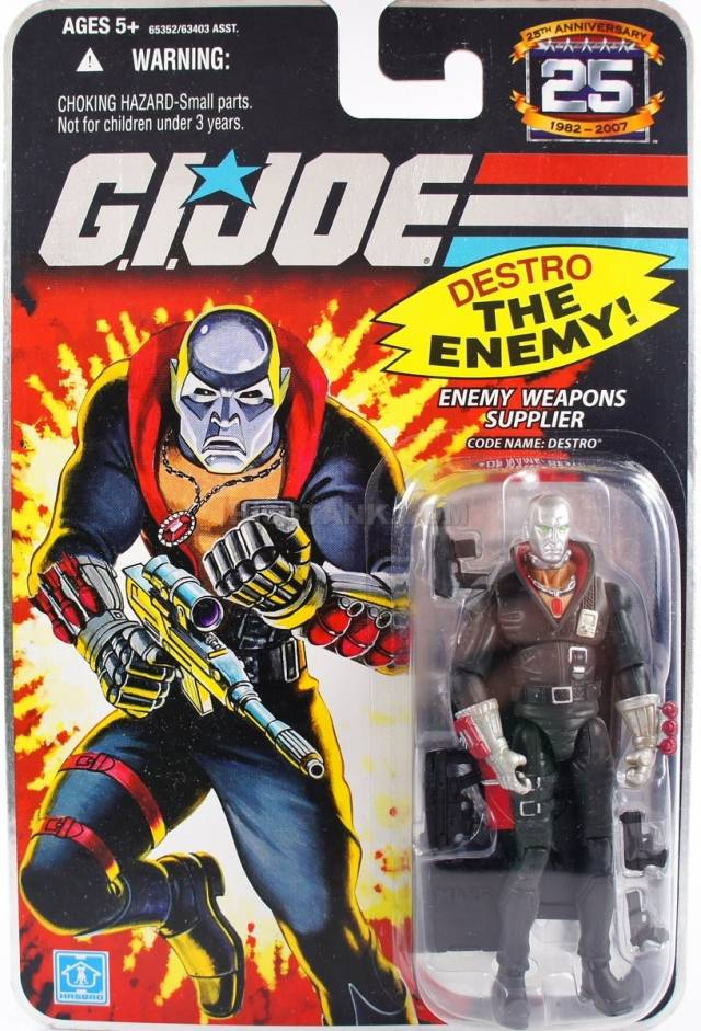 GIJoe - 25th Anniversary -  Enemy Weapons Supplier - Destro