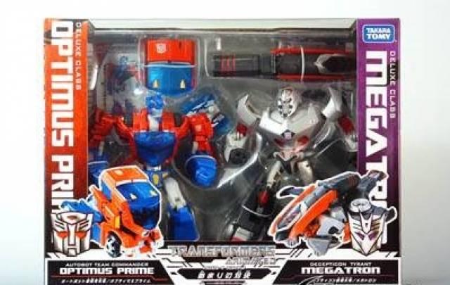 Japanese transformers animated cybertron mode optimus - Transformers cartoon optimus prime vs megatron ...