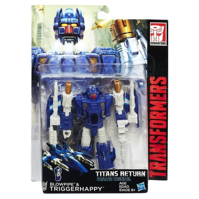 Titans Return 2016 - Triggerhappy w/ Blowpipe - MOC