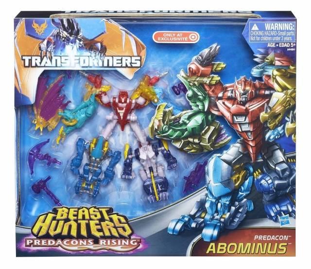 Beast Hunters - Predacons Rising - Abominus Giftset - MIB