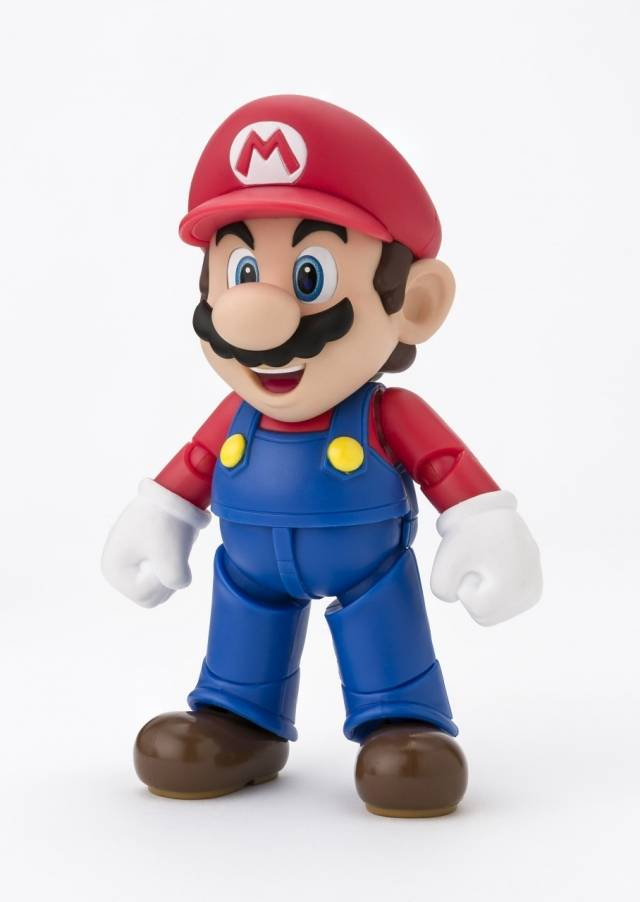 S.H. Figuarts - Super Mario - Mario - (New Package Ver.)